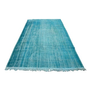 Turkish Handmade Oushak Rug - 5′11″ × 9′8″