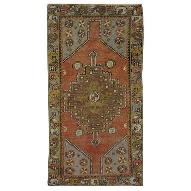 Vintage Turkish Oushak Rug - 3′ × 5′8″ - Image 1 of 3