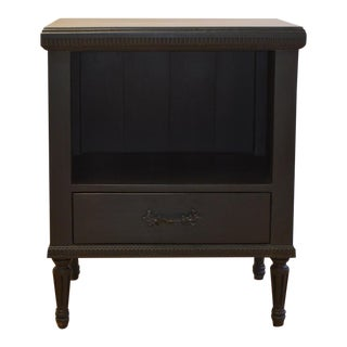 English Farmhouse Madeline Side Table With Bottom Drawer