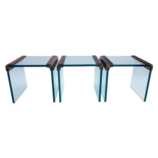 Pace Collection Waterfall Tables - Set of 3