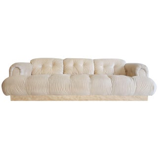 1970's Italian Modern Style Large Sofa