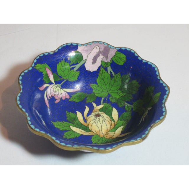 Scalloped Cloisonné Bowl - Image 2 of 6