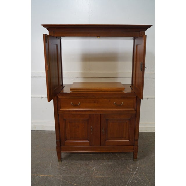 Grange French Directoire Style TV Armoire - Image 9 of 10