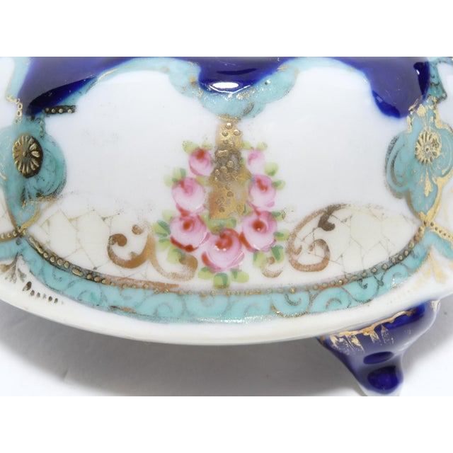 Antique Nippon Biscuit Jar - Image 5 of 7