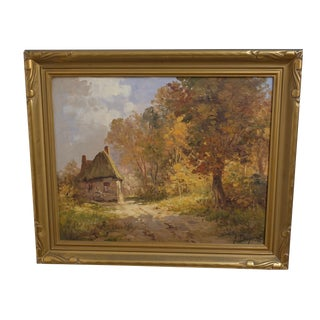 English Countryside Landscape Painting
