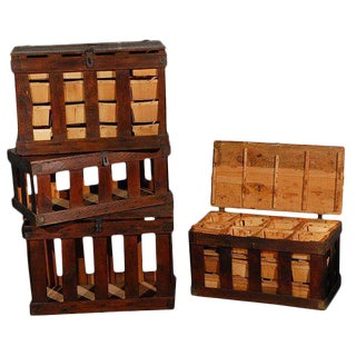 Wooden Berry Crate