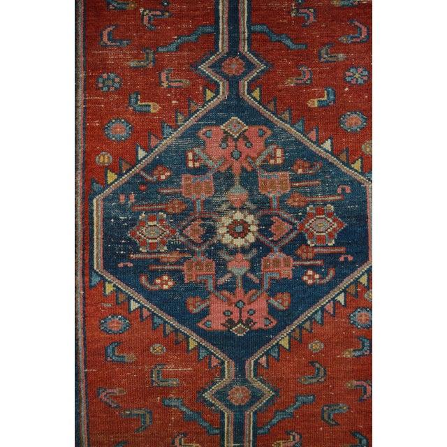 "Vintage Persian Rug - 3'7"" x 6'1"" - Image 5 of 5"