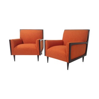 Modern Mid Century Style Lounge Chairs