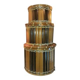 Bamboo Nesting Boxes - Set of 3