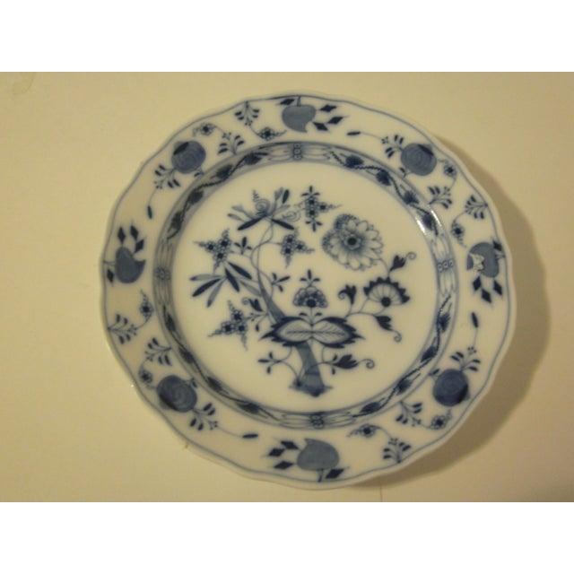 Meissen Blue & White Onion Pattern Porcelain Plate - Image 2 of 6