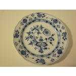 Image of Meissen Blue & White Onion Pattern Porcelain Plate