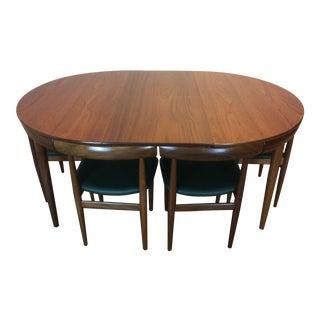 Hans Olsen for Frem Rojle Roundette Dining Set