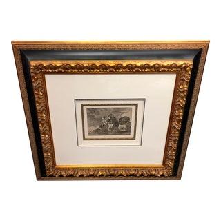 Francisco Goya Engraving Y Esto Tambien