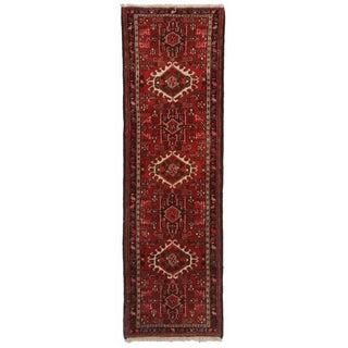 Hand Knotted Wool Persian Karajeh Runner - 2′1″ × 6′7″