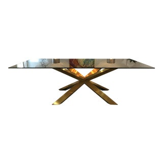 Nuevo Living Couture Glass Top Dining Table