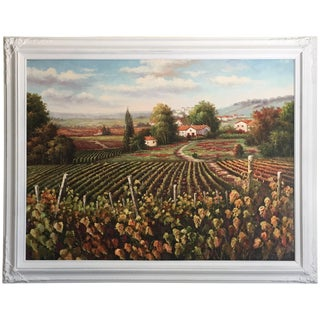 """The Old Vineyard"" Oil Painting"