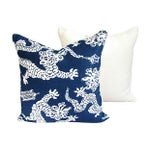 Image of Lee Jofa Lilly Pulitzer Blue Pillows - A Pair
