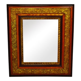 Antique Gesso Framed Mirror