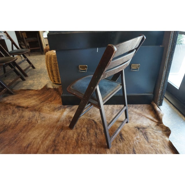 Vintage Folding Chairs - Set of 4 - Image 4 of 4
