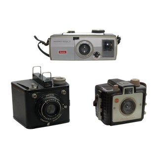 Collection of Kodak Brownie Cameras - Set of 3