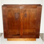 Image of French Art Deco Two-Door Cabinet