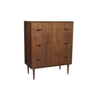 Rosewood Tall Boy Dresser by Svend Lankielde