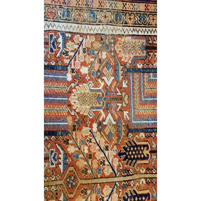 Antique Islamic Heriz Persian Rug - 9′ × 12′ - Image 7 of 10