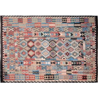 Maimana Afghan Kilim - 6'8″ x 9′