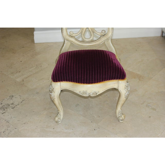 Italian Hand-Carved 19th Century Dining Chairs - Set of 6 - Image 3 of 11