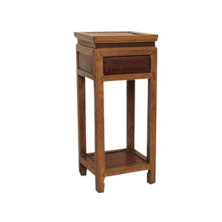 Fruitwood Chinese Altar Stand w/ Hidden drawer