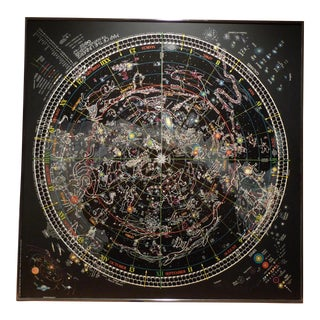 Framed Map of The Universe