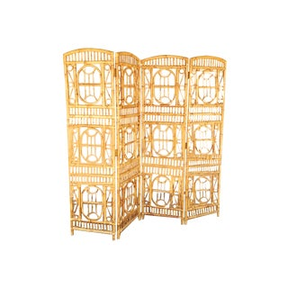 Brighton Bamboo Rattan Privacy Screen
