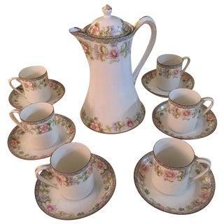 Porcelain Demitasse - Set for 6