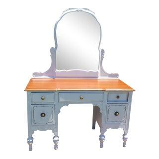 Vintage Distressed White Vanity