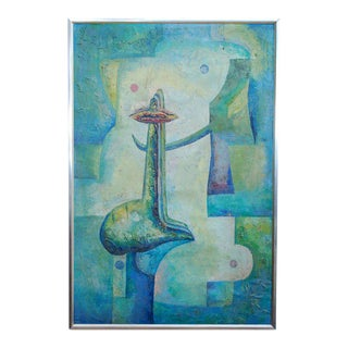Latin American Abstract Surrealist Original Painting