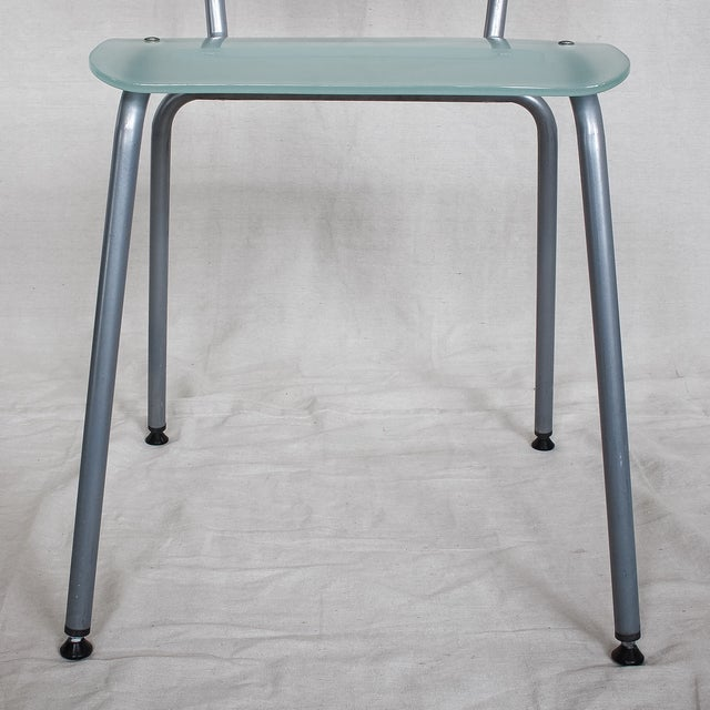Tim Power for Zeritalia Glass Chip Chairs - A Pair - Image 8 of 10