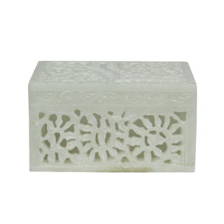 Marble Pierced Jewelry Box