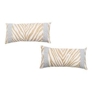 Animal Print Lumbar Pillows- A Pair