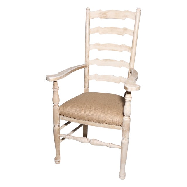 Image of French Country Deconstructed Arm Chair