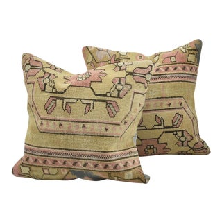 Vintage Turkish Cushion Covers - A Pair