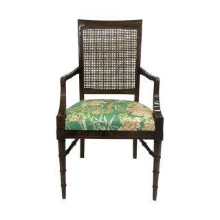 Faux-Bamboo Arm Chair