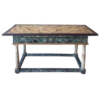 Painted Italian Antique Table