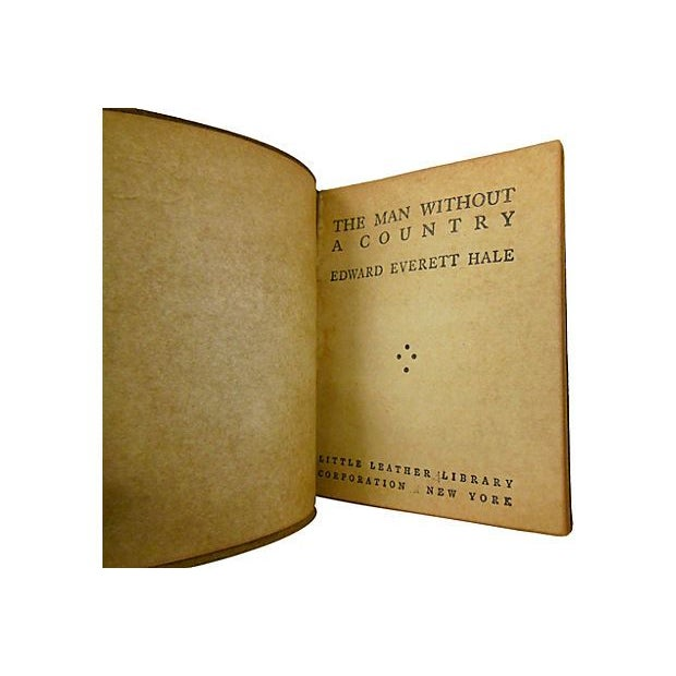 "Image of 1920s ""Man Without a Country"" by Hale Leather Book"