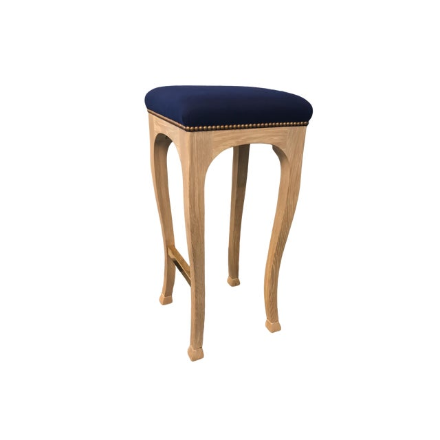 """Truex American Furniture """"Golden Gate"""" Bar Stool (Pair Available) - Image 2 of 6"""