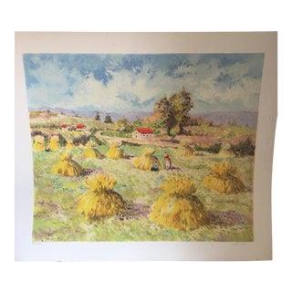 Leila Pissarro Landscape Artist Proof Print
