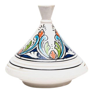 Small Handpainted Moroccan Serving Tajine