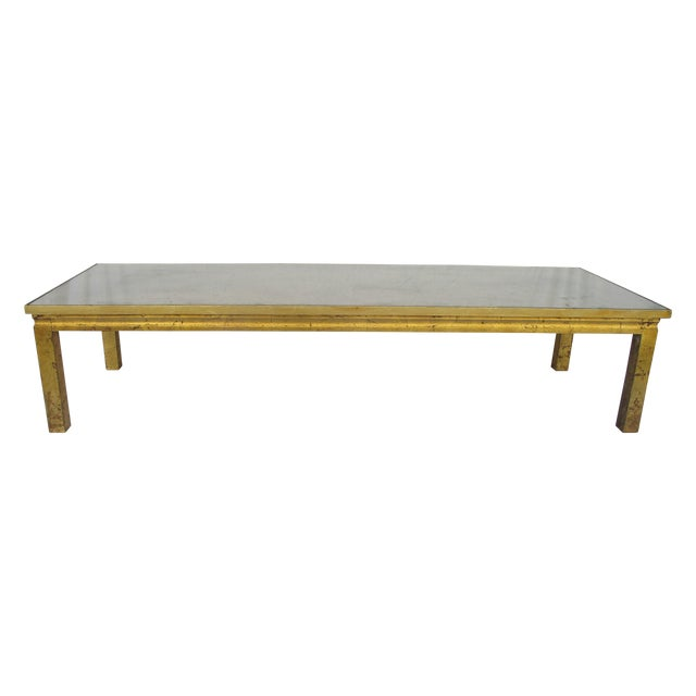 Early Dennis And Leen Gold Leaf Coffee Table Chairish
