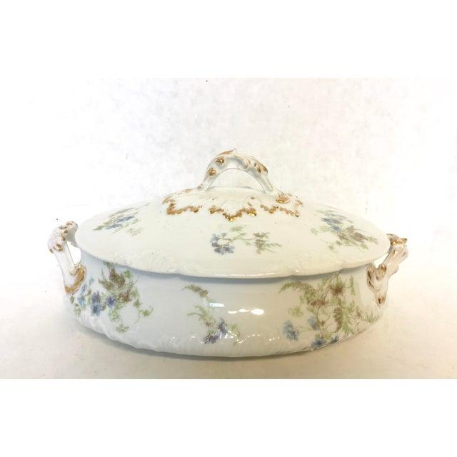 Antique Haviland Limoges Covered Serving Dish - Image 2 of 5
