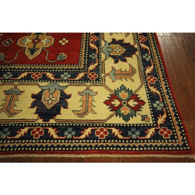 Traditional Super Kazak Rug Red- 8' x 11' - Image 7 of 11