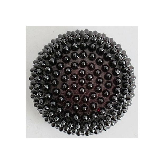 Image of Glass Hobnail Ring Dish